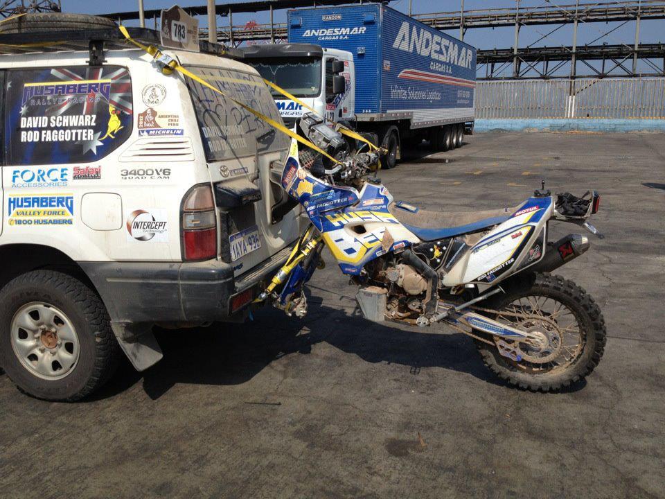 Zatkojan Dakar 2012